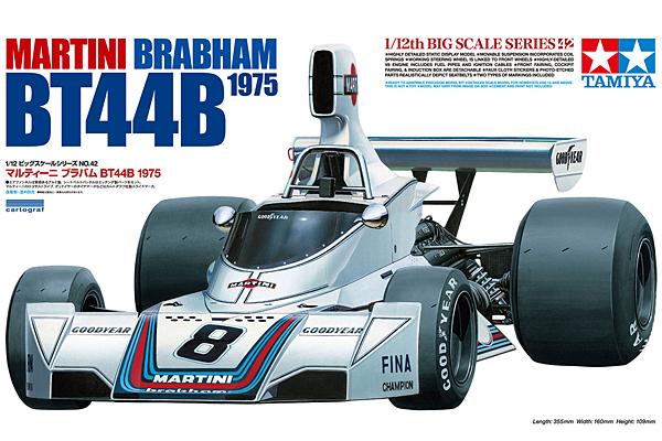 1:12 Brabham BT44B With Etch