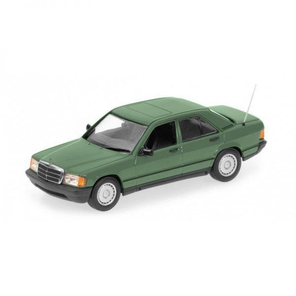 1:18 1982 Mercedes-Benz 190E (W201) - Green Metallic