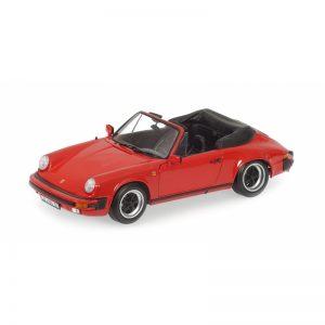 1:18 1983 Porsche 911 Carrera Cabriolet - Red