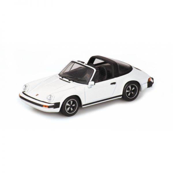 1:18 1983 Porsche 911 Carrera Targa - White