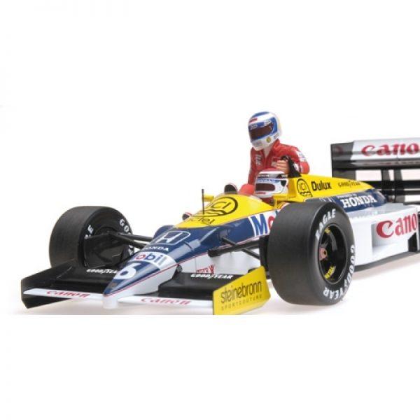 1:18 1986 Williams Honda FW11 - Keke Rosberg Riding on Nelson Piquet's Car