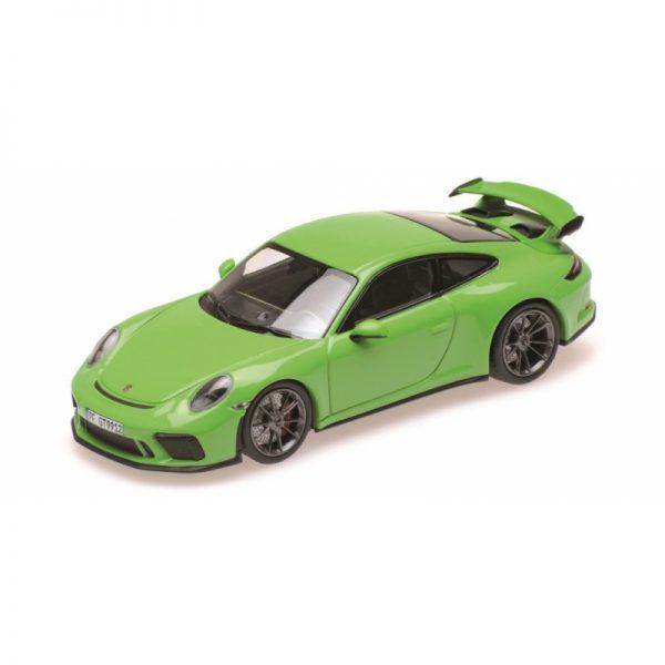 1:18 2018 Porsche 911 GT3 - Yellow/Green