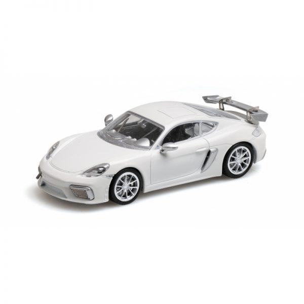 1:18 2020 Porsche 718 Cayman GT4 Clubsport - White