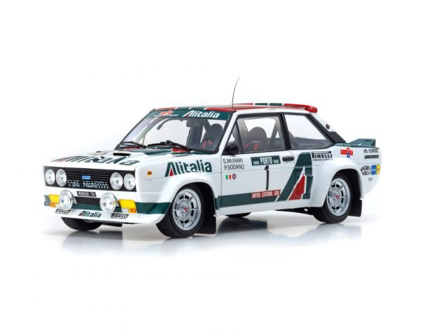 1:18 Fiat 131 Abarth Rally #1 - 1978 Rally Portugal