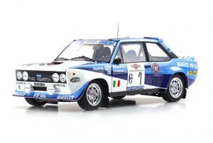 1:18 Fiat 131 Abarth - 1981 Costa Smeralda Fiat Works #1