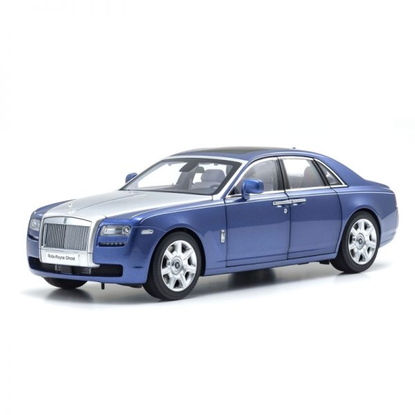 1:18 Rolls-Royce Ghost - Black/Mazarine Blue