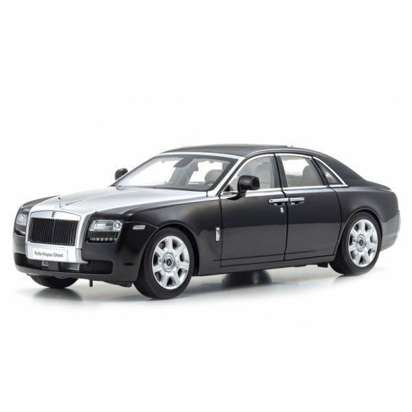 1:18 Rolls-Royce Ghost - Black/Silver