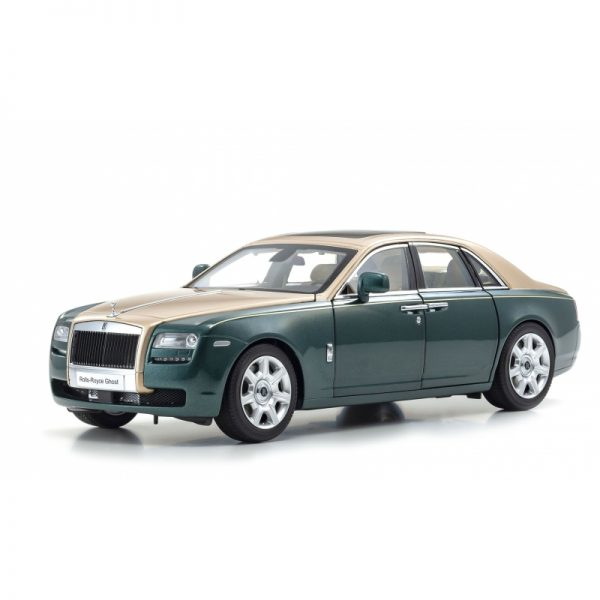 1:18 Rolls-Royce Ghost - Brooklands Green/Gold