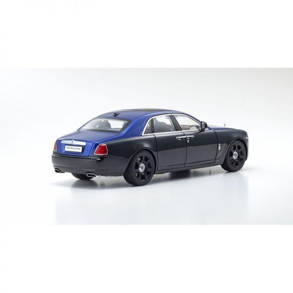 1:18 Rolls-Royce Ghost - Metropolitan Blue/Silver
