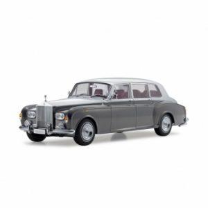 1:18 Rolls Royce Phantom VI - Dark Grey / Silver