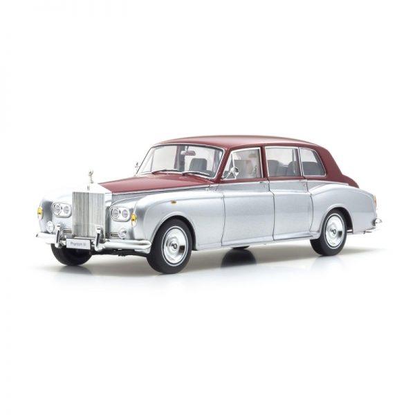 1:18 Rolls-Royce Phantom VI - Silver/Red