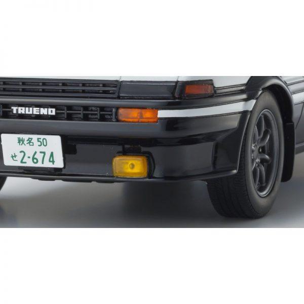 1:18 Toyota AE86 - Initial D W/Figure