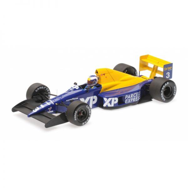 1:18 Tyrrell Ford 018 - Jonathan Palmer - 1989 French GP
