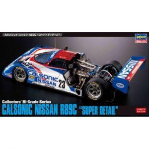 1:24 Calsonic Nissan R89C  Super Detail