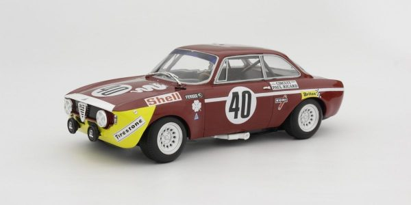 1:18 Alfa Romeo GTA 1300 Jr - Winner Div.1 24H Paul Ricard 1971