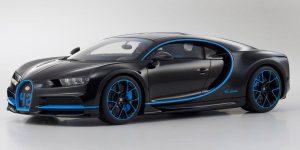 1:12 Bugatti Chiron 42 Edition - Black / Blue