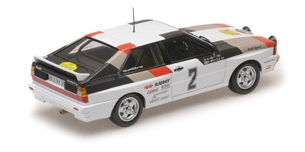 1:18 Audi Quattro - Mikkola/Hertz - Winners International Swedish Rally 1981