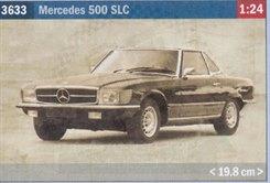 Mercedes 500 SLC Model Kit