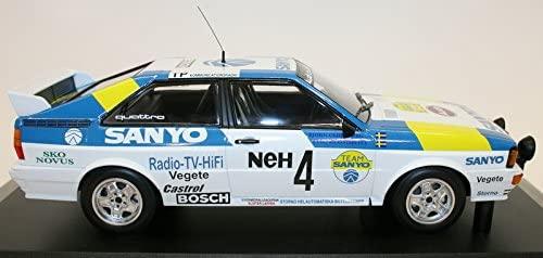 1:18 Audi Quattro - Audi Sport Sweden #4 - Winners Int. Swedish Rally 1982
