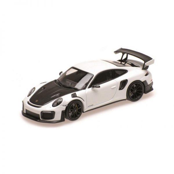 1:18 2018 Porsche 911 GT2 RS - White with Black Wheels