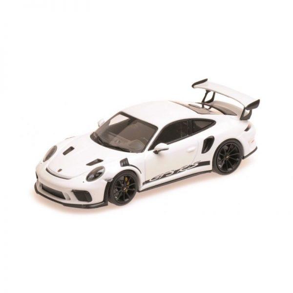 1:18 2019 Porsche 911 GT3 RS - White with Black Wheels