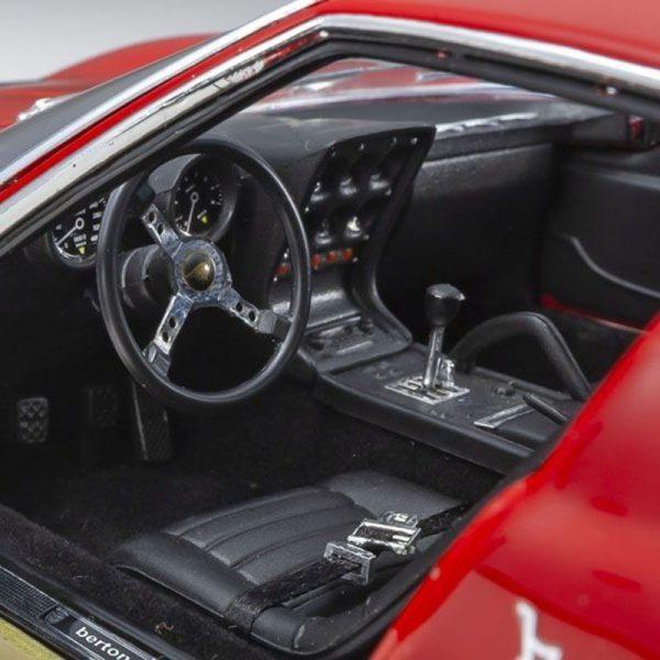 1:18 Lamborghini Miura P400S - Red/Gold