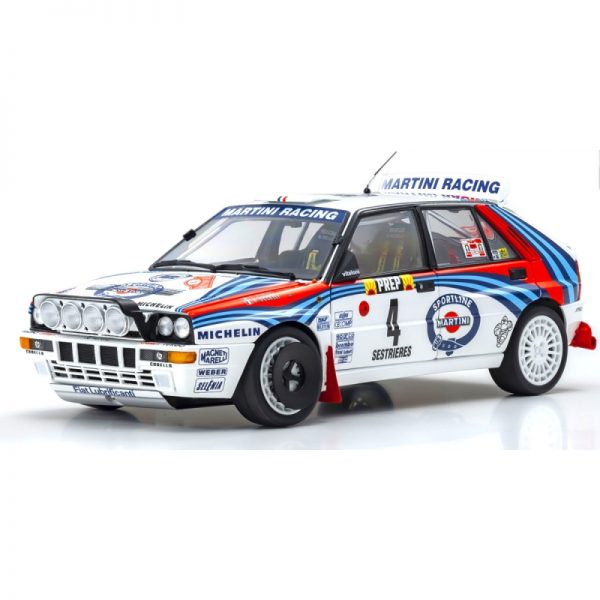 1:18 Lancia Delta HF Integrale 1992 Monte Carlo Rally #4