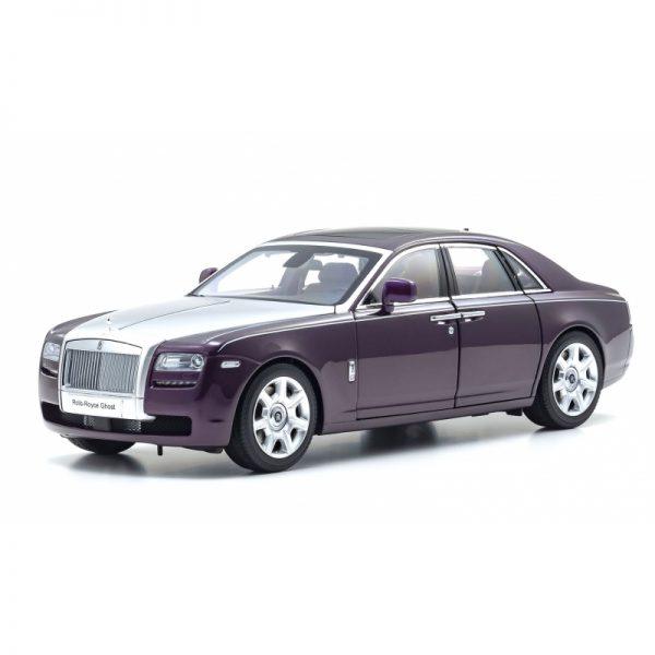 1:18 Rolls-Royce Ghost - Twilight Purple/Silver
