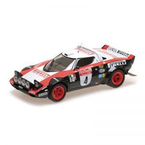 1:18 Lancia Stratos - Lancia Pirelli - Alén/Kivimäki - Winners Rallye Sanremo 1978