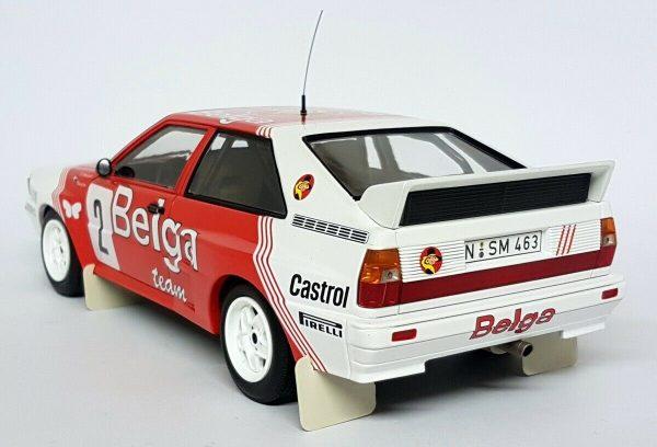 1:18 Audi Quattro A2 - Belga Team #2 - Winners Boucles De Spa 1985
