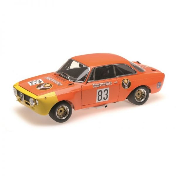 1:18 Alfa Romeo GTA 1300 Jr - 'Jagermeister' - DRM 1972