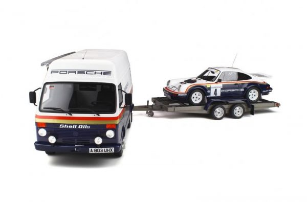 1:18 Pack Rallye Porsche 1000 Pistes 1985