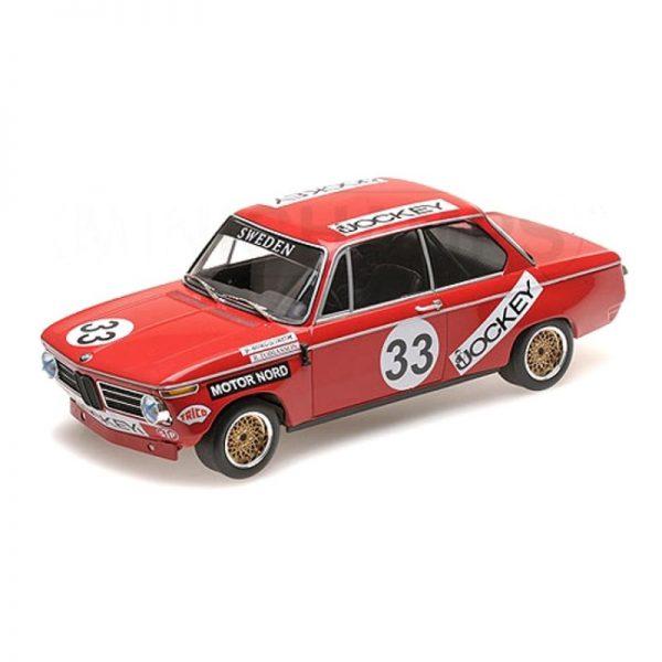 1:18 BMW 2002 - Tobiasson/Nordstrom - Nurburgring 6 Hours 1972