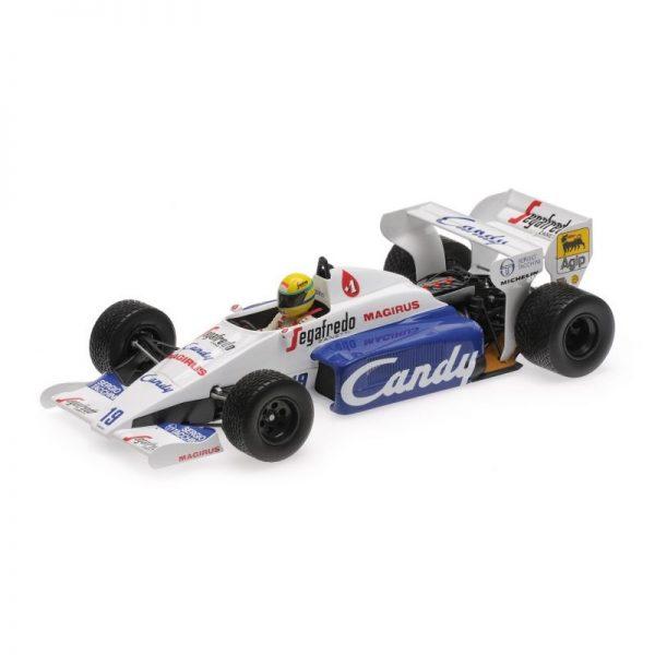 1:18 Toleman Hart Tg 183b - Ayrton Senna - 1984 Monaco GP