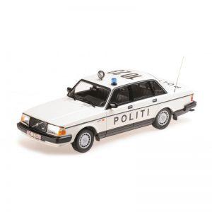 1:18 1986 Volvo 240 GL - 'Politi Danmark'