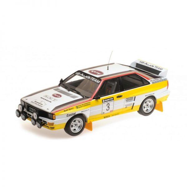1:18 Audi Quattro A2 - Winners Sanyo Rally Of New Zealand 1984
