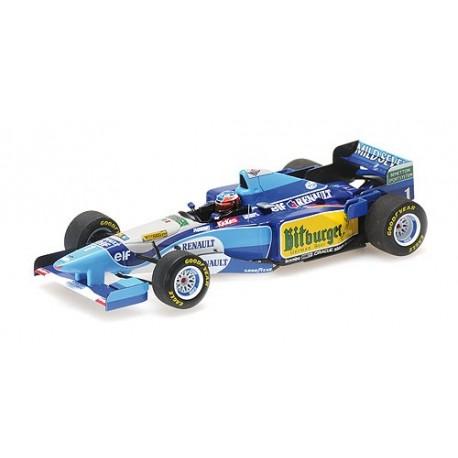 1:43 Benetton Renault B195 - Michael Schumacher - Winner Pacific GP 1995 - World Champion