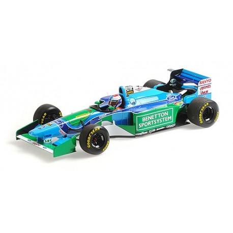 1:18 Benetton Ford B193 - Jos Verstappen - 3rd Place 1994 Hungarian GP