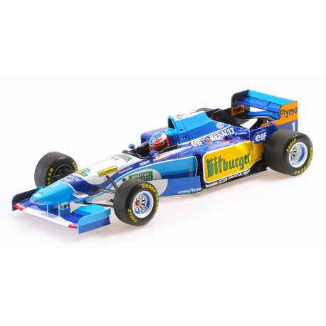 1:18 Benetton  B195 - Michael Schumacher - Winner Monaco GP 1995