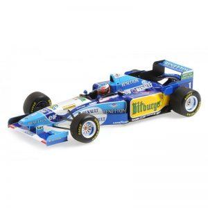 1:18 Benetton Ford B195 - Michael Schumacher - Winner 1995 German GP