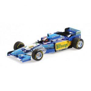1:18 Benetton Ford B195 - Johnny Herbert -  Winner 1995 British GP