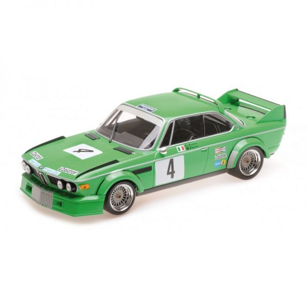 1:18 BMW 3.0 CSL - Jolly Club Milano - Finotto/Facetti - Winners ETCC Zandvoort 1979