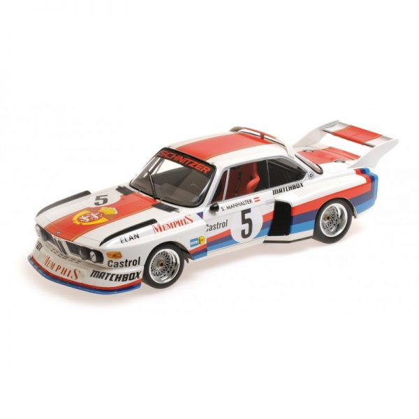 1:18 BMW 3.5 CSL - Winner Havirov International 1977