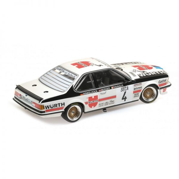 1:18 BMW 635 Csi - BMW Italia - 24H Spa 1984