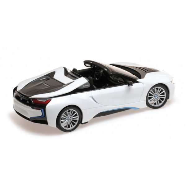 1:18 2017 BMW i8 Roadster - White Metallic