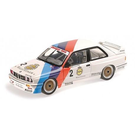 1:18 BMW M3 - Zakspeed-BMW - Eric Van Der Poele - Champion DTM 1987
