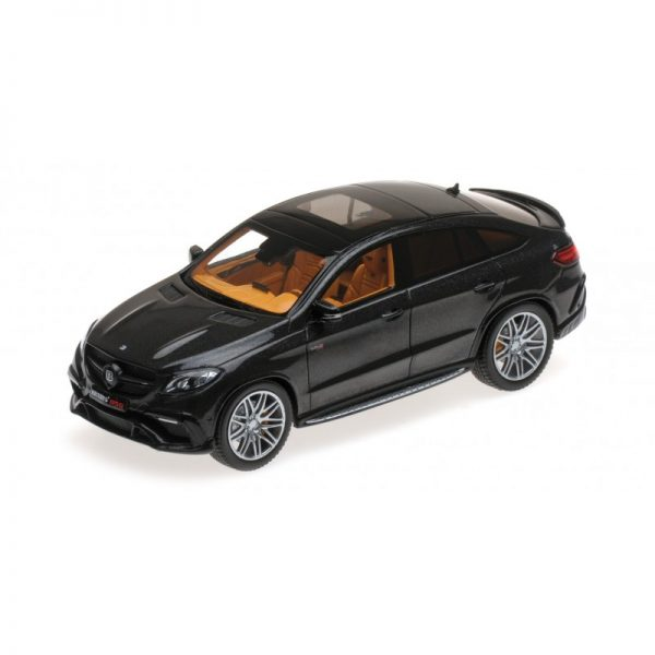 1:43 2016 Brabus 850 Auf Basis GLE 63S - Metallic Black