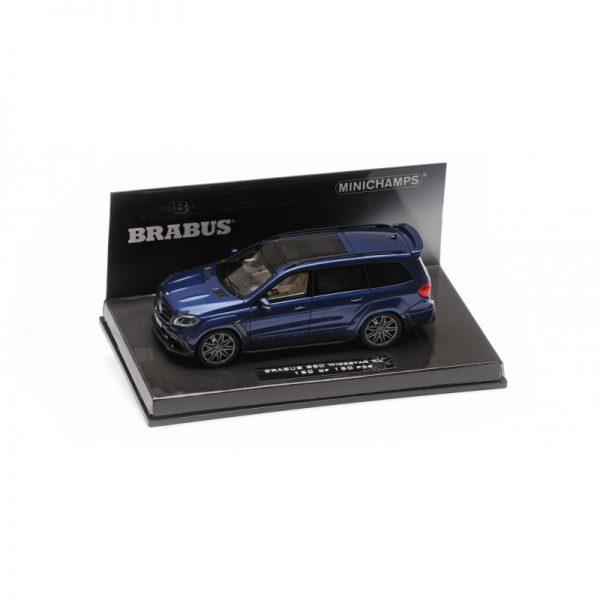 1:43 2017 Brabus 850 Widestar Xl  - Dark Blue Metallic