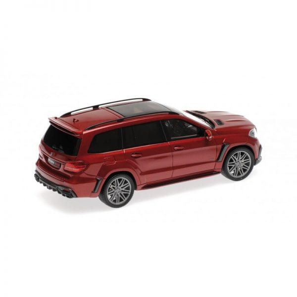 1:43 2017 Brabus 850 Widestar Xl - Red Metallic
