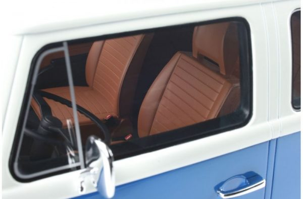 1:12 Volkswagen Bus T2 Clear Blue